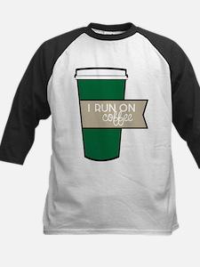 I Run On Coffee Baseball Jersey