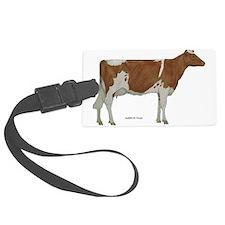 Guernsey Milk Cow Luggage Tag