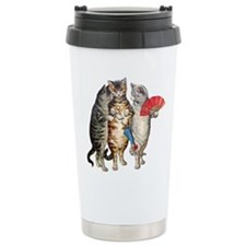 Three Little Kittens Lost Their Mittens Travel Mug