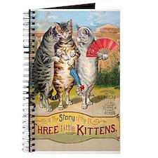 Three Little Kittens Lost Their Mittens Journal