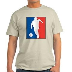 Soccer Ash Grey T-Shirt