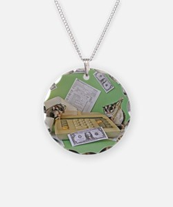 Taxes Necklace
