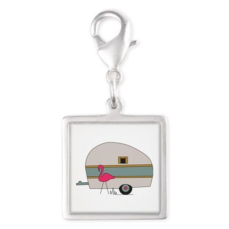 Camper Flamingo Charms