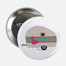 "Camper Flamingo 2.25"" Button"
