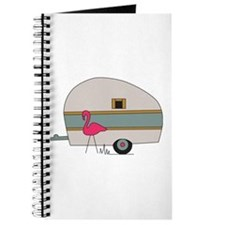 Camper Flamingo Journal