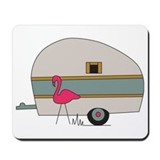Camper Flamingo Mousepad