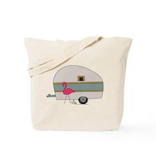 Camper Flamingo Tote Bag