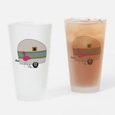 Camper Flamingo Drinking Glass