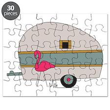 Camper Flamingo Puzzle