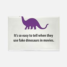 Dinosaurs Rectangle Magnet