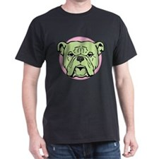 Halftone Bulldog T-Shirt