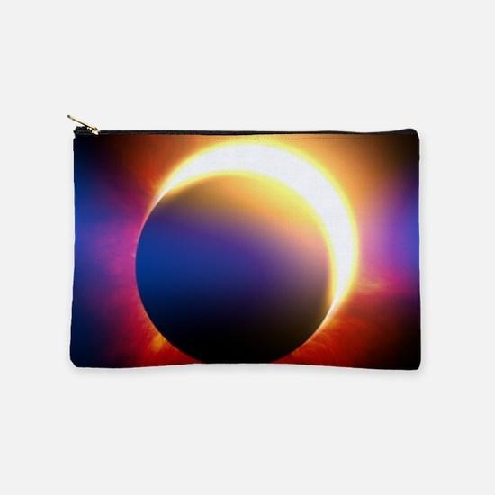 Solar Eclipse Makeup Pouch