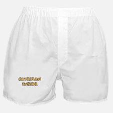 Caveman Inside Boxer Shorts