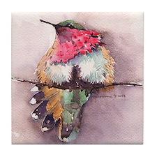Wine-throated Hummingbird Tile Coaster