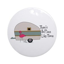 No Place Like Home Ornament (Round)