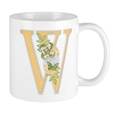 Monogram Letter W Mug