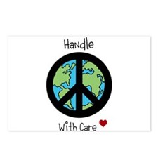 World Peace Earth day 2013 design Postcards (Packa