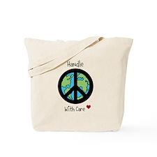World Peace Earth day 2013 design Tote Bag
