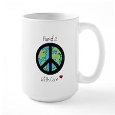 World Peace Earth day 2013 design Mug