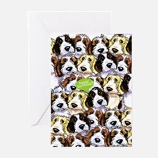 Funny Birthday PBGV Dogs Greeting Cards (Pk of 20)