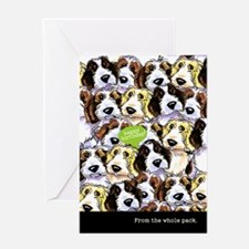 Funny Birthday from Group PBGV Greeting Card