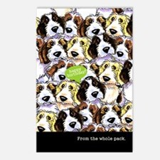 Funny Birthday from Group PBGV Postcards (Package