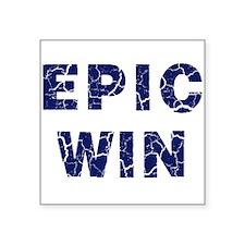 Epic Win Sticker