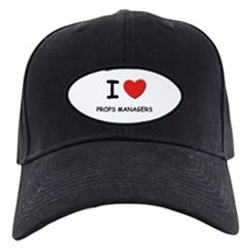 I love props managers Baseball Hat