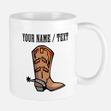 Custom Cowboy Boot Mug