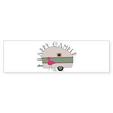 Happy Camper Bumper Bumper Sticker