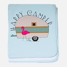 Happy Camper baby blanket