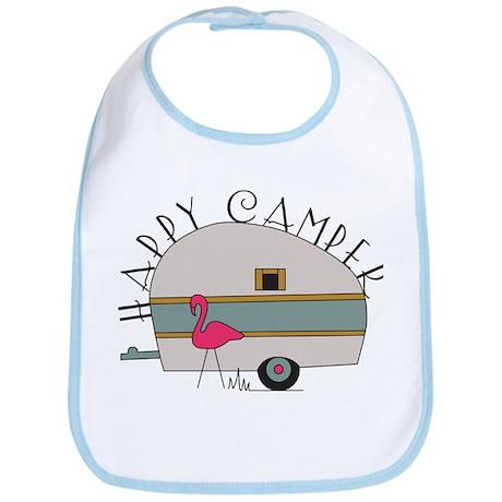 Happy Camper Bib
