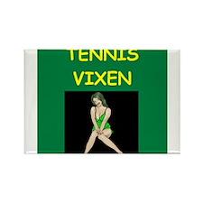 tennis Rectangle Magnet