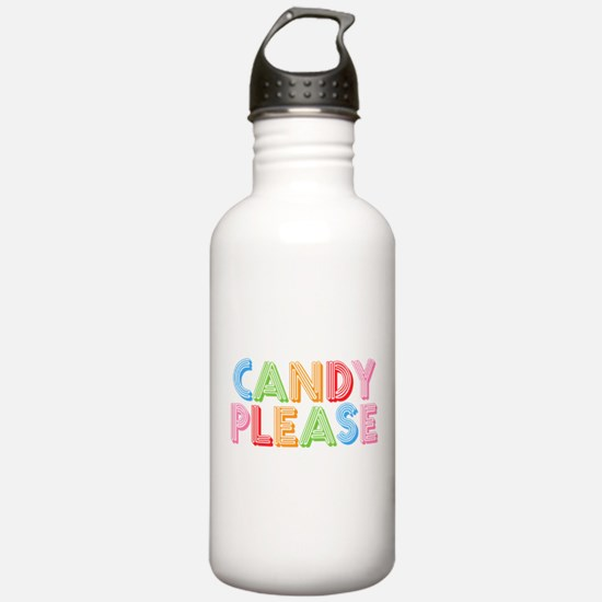 Candy Please I Love Candy Water Bottle