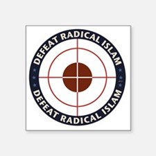 Defeat Radical Islam Sticker