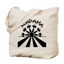 Kendama Sun Tote Bag (front & back)