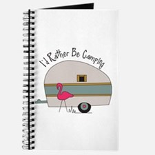 Id Rather Be Camping Journal