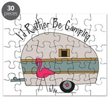 Id Rather Be Camping Puzzle