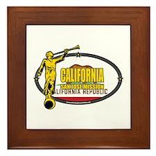 California San Jose Mission - California Flag - LD