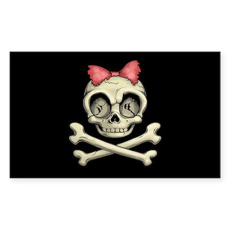 Betty Bones Sticker (Rectangle)