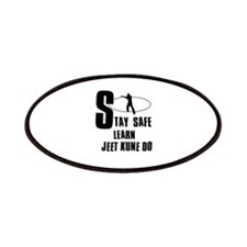 Stay safe learn Jeet Kune Do Patches