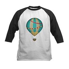 Hot air balloon blue Baseball Jersey