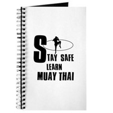 Stay safe learn Muay Thai Journal