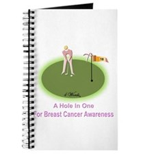 4 Words - A Hole In One - For Breast Cancer Awaren