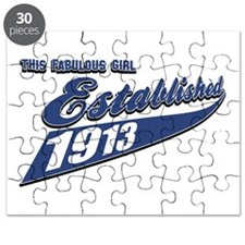 This fabulous girl made in 1913 Puzzle