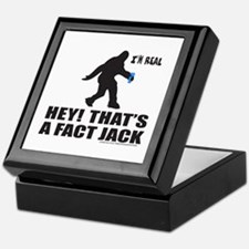 BIGFOOT HEY! THAT'S A FACT JACK Keepsake Box