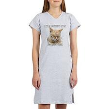 Zen Cat - I Was Grumpy Once It Was Awful Women's N