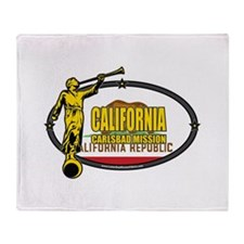 California Carlsbad Mission - California Flag - LD
