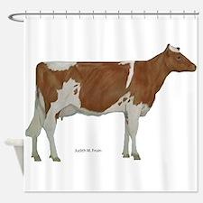 Guernsey Milk Cow Shower Curtain