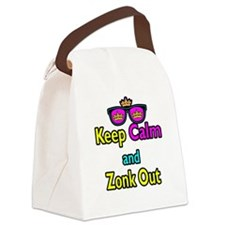 Crown Sunglasses Keep Calm And Zonk Out Canvas Lun